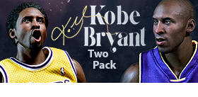 REAL MASTERPIECE 1/6 KOBE BRYANT TWO PACK