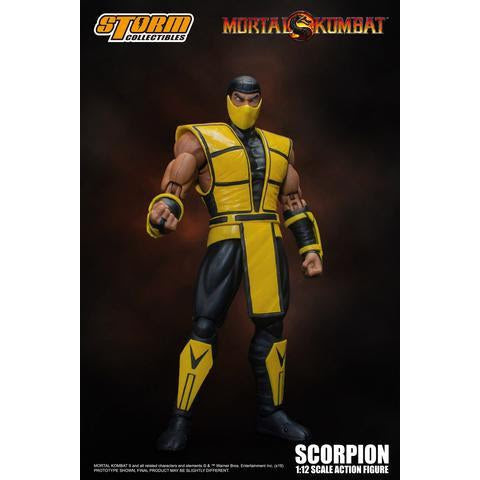 Image of Mortal Kombat Scorpion 1:12 Scale Action Figure - OCTOBER 2019