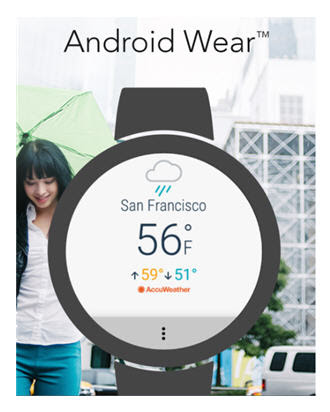 AccuWeather Android Wear 2.0 App