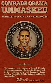 The Real Russia-Gate Scandal: 'Comrade Obama Unmasked: Marxist Mole in the White House'