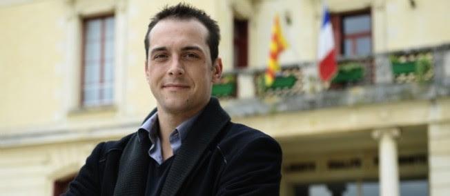 Le maire Front national du Pontet, Joris Hébrard.