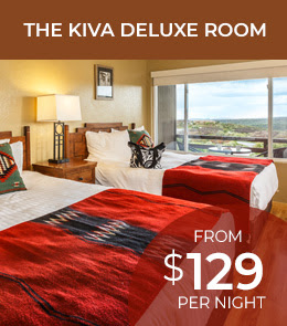 The Kiva Deluxe Room from $129 per night