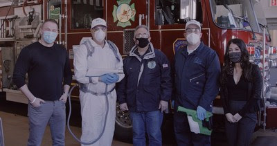 Syosset Fire Department Disinfected & Protected With The BIOPROTECTUs™ System