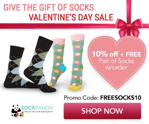 Sock Panda: Save 10% + Get a F...