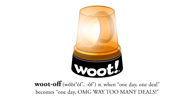 【TODAY ONLY】 Woot-Off + $5...