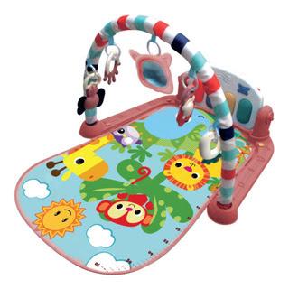 Tapete De Atividades Madagascar Maxi Baby Com Piano Musical
