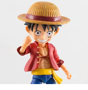 One Piece Fever Toys Monkey D. Luffy Action Figure