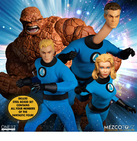 Fantastic Four One:12 Collective Deluxe Steel Boxed Set