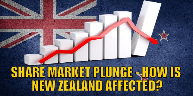 Share Market Plunge - How is New Zealand Affected and What's Next?