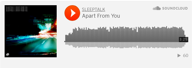 Apart fRom You soundcloud