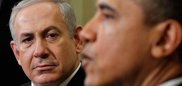 Israeli Prime Minister Benjamin Netanyahu and President Obama