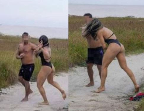Photos: Female MMA Fighter Batters Man Who Was 'Masturbating During Her Photo Shoot'
