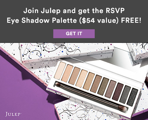 Free Eye Shadow Palette ($54 value!) When You Join Julep Beauty