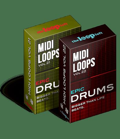 Epic MIDI Drums