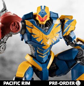 Pacific Rim: The Black Robot Spirits Atlas Destroyer