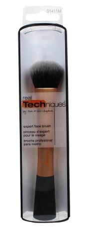 experte face brush real techniques - pinceaux pour le fond de teint