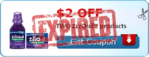 $2.00 off TWO ZzzQuil™ products