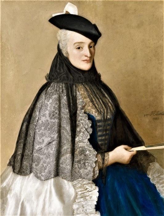 Портрет мадам Боре      1746     2.8 х 49  пергамент, пастель   Амстердам, Рейксмузеум (532x700, 111Kb)