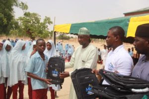 MUSA HALILU AHMED FOUNDATION DONATES EDUCATIONAL MATERIALS TO GOVERNMENT MODEL SCHOOL DAURA