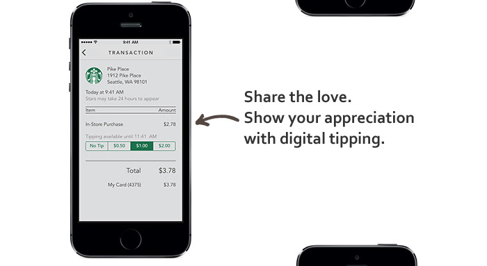 Share the love. Show your appreciation with digital tipping.