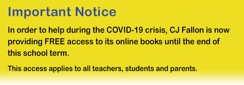 Important Notice re COVID-19 and free access to books online.