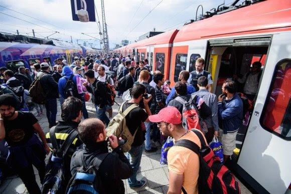 Alemania suspende temporalmente acogida de refugiados. Foto: EFE
