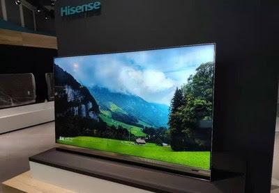 Hisense 8K ULED XD TV and Sonic Laser TV Shine at IFA 2019