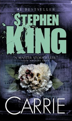Carrie by Stephen King book