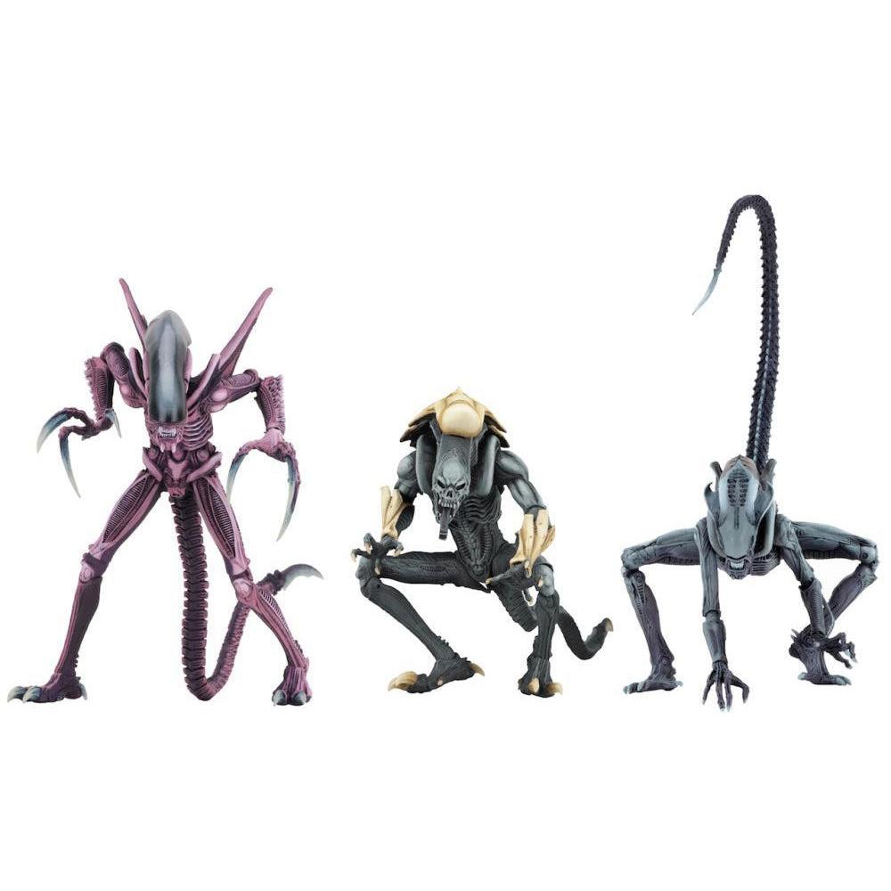 Image of Alien vs. Predator Arcade Appearance Aliens Set of 3 Figures