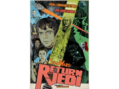 STAR WARS FINAL CONFRONTATION LIMITED EDITION LITHOGRAPH