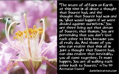 a thought that source had - the 9th dimensional arcturian council - channeled by daniel scranton, channeler of archangel michael