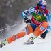 Aksel Lund Svindal of Norway on his way to victory in the Super G in Lake Louise, Alberta, on Sunday.