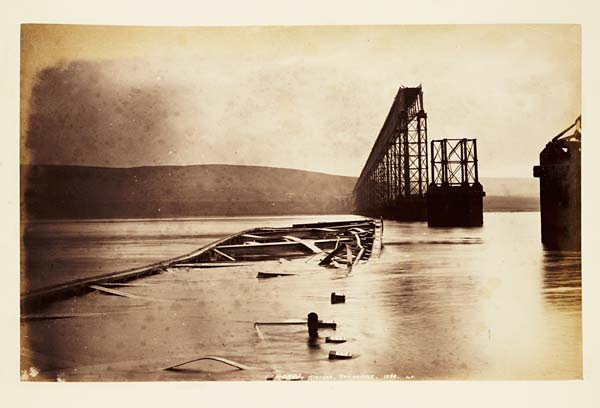 (53) 139B. J,V. - Fallen girders, Tay Bridge