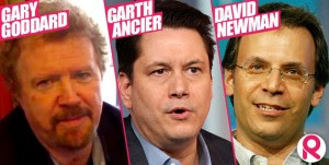 Gary Goddard, Garth Ancier, David Neuman