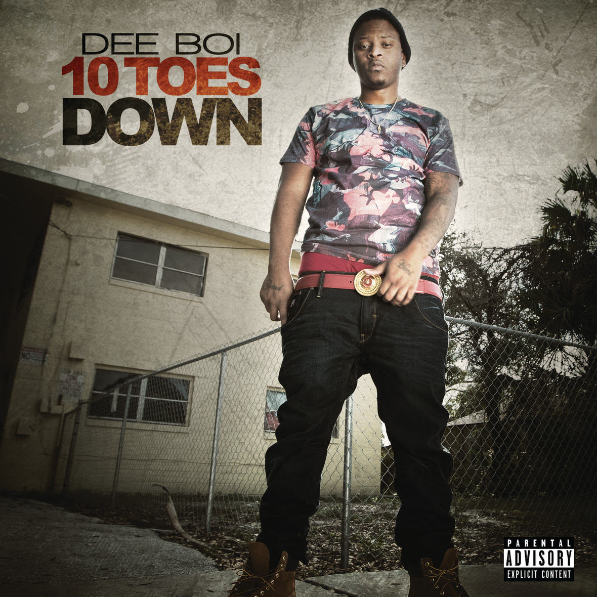 Dee Boi 10 Toes Down Mixtape Cover
