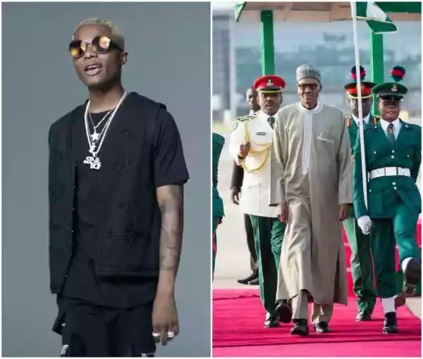 Wizkid Blast Nigeria President Buhari On Twitter