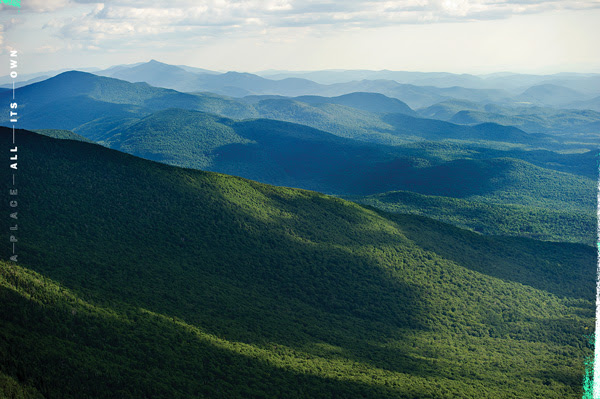 Scenic Green Mountain View in Vermont