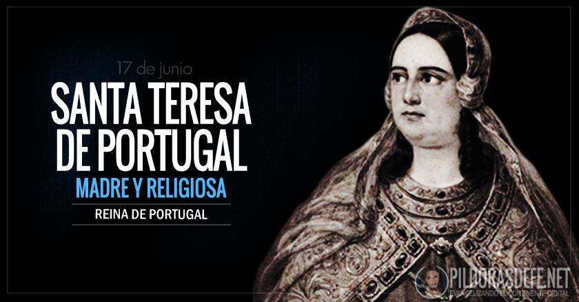 santa teresa de portugal madre y religiosa reina de portugal