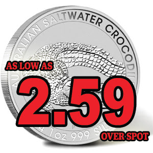 Austrian Saltwater Crocodile is Now Available