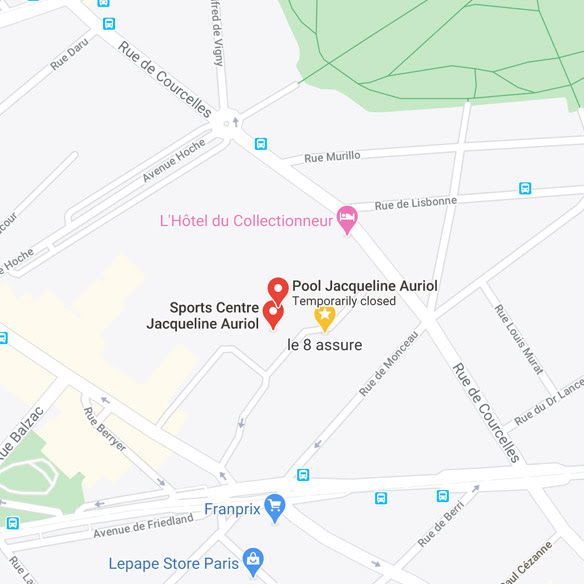 Centre sportif Jacqueline Auriol - Beaujon