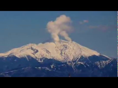 2/08/2016 -- Mount Ontake-San in Japan major steaming -- Eruption concerns growing  Hqdefault