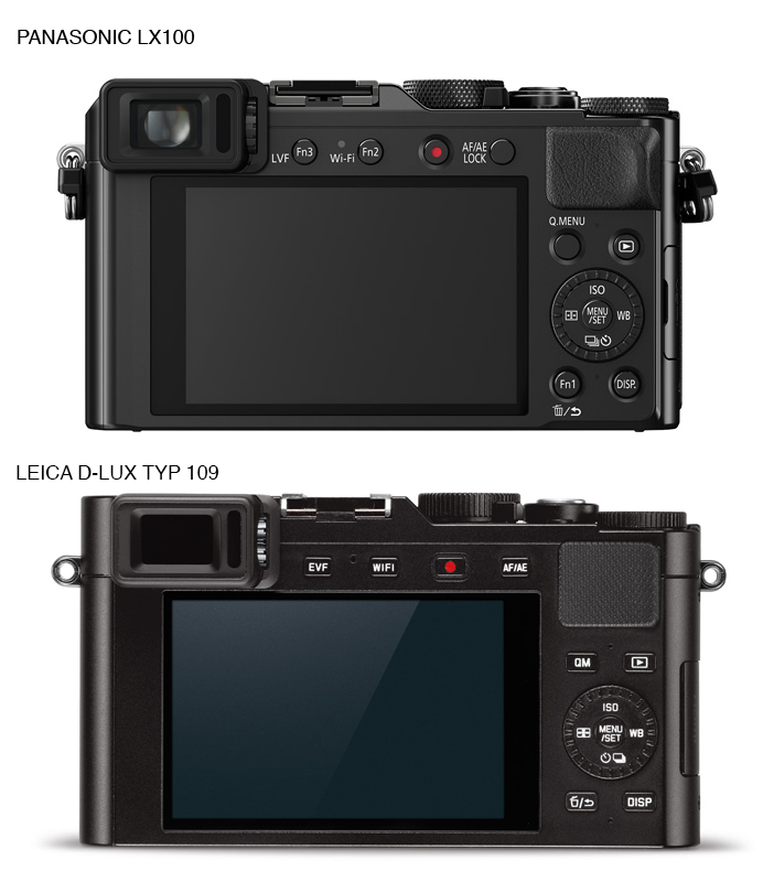 LX100 and Leica D-Lux Typ 109