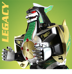 POWER RANGERS LEGACY COLLECTIBLES