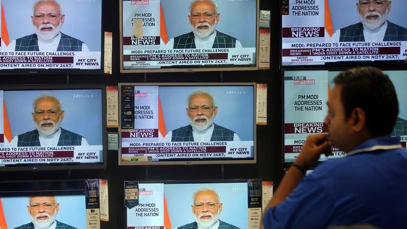 La India derriba un satélite en órbita con un misil y se declara potencia espacial