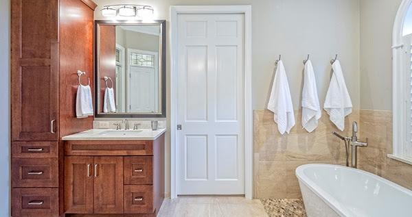 Minor bathroom reno