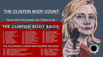 clinton body count