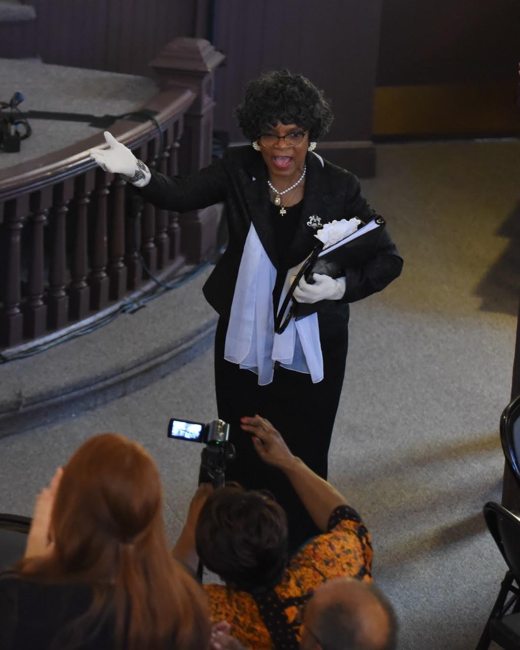 Janice Greene as Senator Verda Welcome