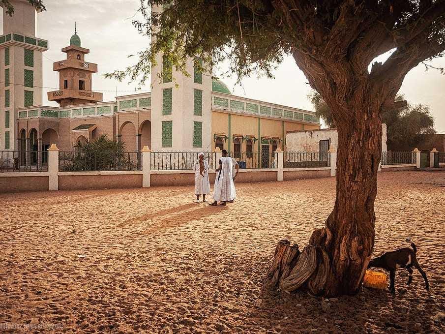 16. (tie) Mauritania: 35,000 tourists