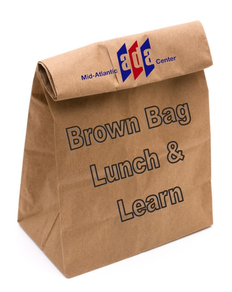 Brown Bag Lunch and Learn