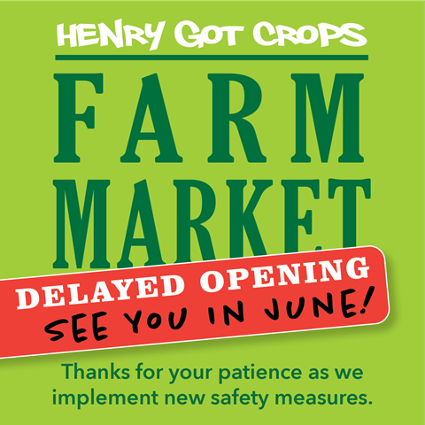 Farm Market Delayed Opening